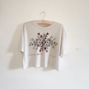 Urban Outfitters   Floral Crop Top